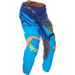 Fly Racing Mens Kinetic Trifecta Pants Blue