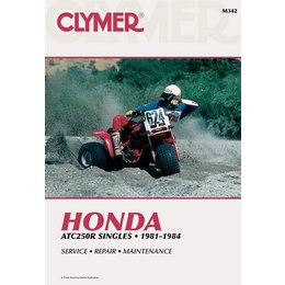 Clymer Repair Manual For Honda ATV ATC250R ATC-250R 81-84