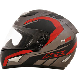 AFX FX95 Mens Airstrike Frost Helmet Red