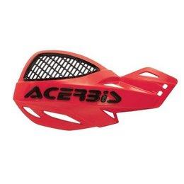 Acerbis Uniko Vented MX Hand Guards Red Universal Pair