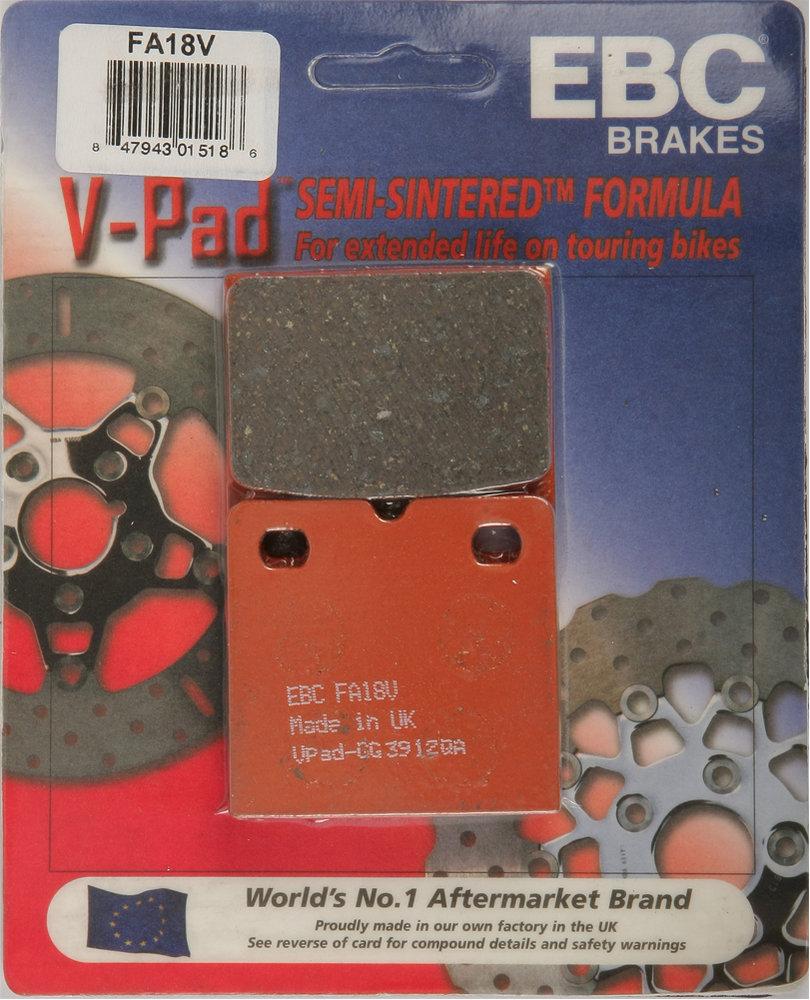 Ducati 750 Paso EBC Rear Brake Pads 1987-1990