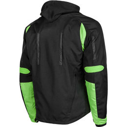 Speed & Strength Mens Fast Forward Armored Textile Jacket Green