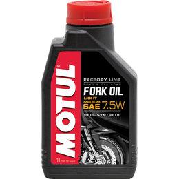Motul Factory Line 100% Synthetic Fork Oil Light / 7.5 - 5 W 1 Liter