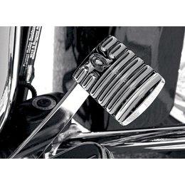 Chrome Covingtons Brake Pedal Pad For Harley Flt Flh Flst 85-10