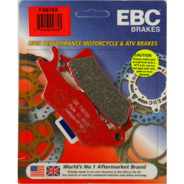 EBC X-Series Carbon Front Left ATV Brake Pads Single Set For Can-AM FA602X