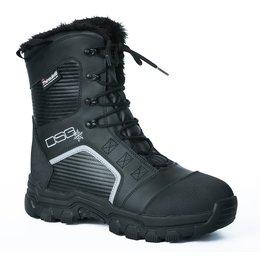 Divas Womens Rime Snow Boots Black