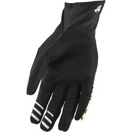 Thor Mens Agile Floral Gloves Black