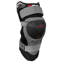 Black, Grey Evs Sx01 Knee Brace Black Grey
