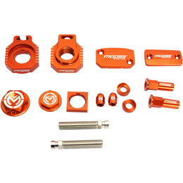 Moose Racing Aluminum Bling Pack KTM EXC F SX SXF Orange 1231-0919 Orange