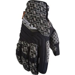 Fly Racing Switch SNX Snowmobile Gloves Black