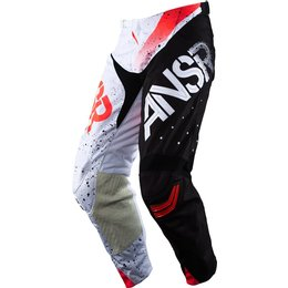 Answer Mens Limited Edition Elite Halo MX Motocross Riding Pants February Red