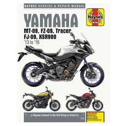 Haynes Repair Manual For Yamaha FJ-09 FZ-09 MT-09 R900 M6333 Unpainted