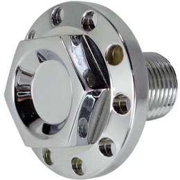 Joker Machine Steering Stem Nut Each For Harley Dyna Sportster Chrome 10-011C Unpainted