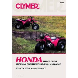Clymer Repair Manual For Honda ATV TRX200 ATC250 250 84-87