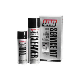UNI Filter Service Kit With Filter Oil And Cleaner