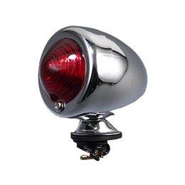 MC Enterprises Bullet Light With Amber Lens Chrome Universal All