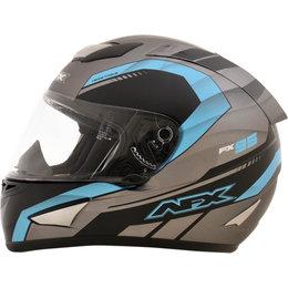 AFX FX95 Mens Airstrike Frost Helmet Frost Blue, Grey