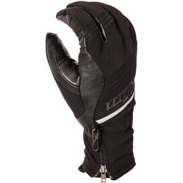 Klim Mens Powerxcross Gore-Tex Insulated Textile Snowmobile Gloves Black
