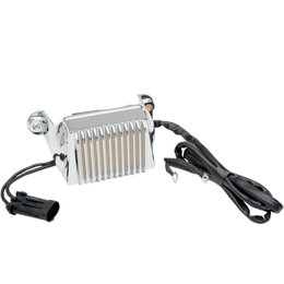 Drag Specialties Premium Voltage Regulator For Harley-Davidson Chrome 2112-1035 Metallic