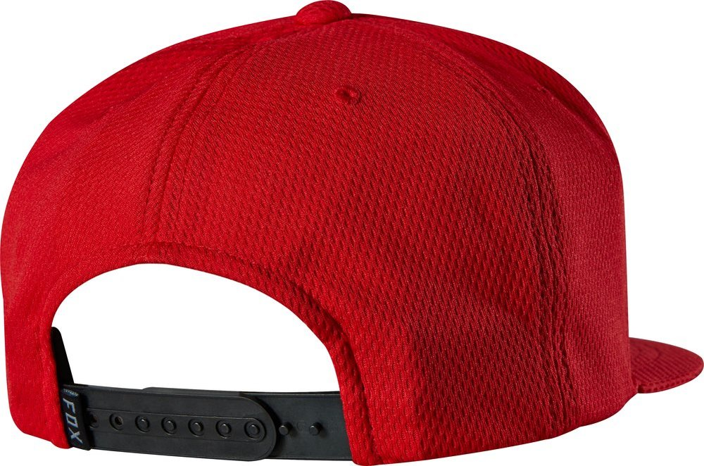 f28c7af5b0b ... get fox racing mens trenches snapback adjustable hat red f92a1 2217c