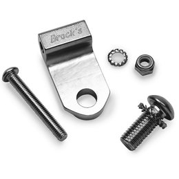 Nickel-plated Aluminum Brock Performance Strap End Kit Universal