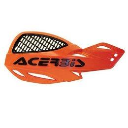 Acerbis Uniko Vented MX Hand Guards Orange Universal