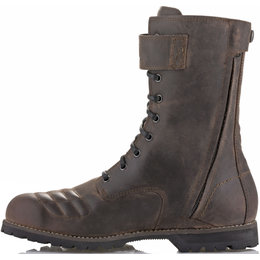 Alpinestars Mens Oscar Collection Firm Drystar Leather Boots Brown