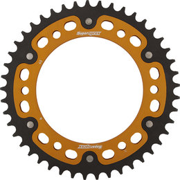 Supersprox Stealth Rear Sprocket 45T BMW F700GS F800GS F800R Gold RST-6-45-GLD Gold