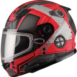 GMax Youth GM49Y Trooper Snow Helmet With Dual Pane Shield Red