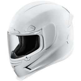 Icon Airframe Pro Gloss Full Face Motorcycle Helmet White