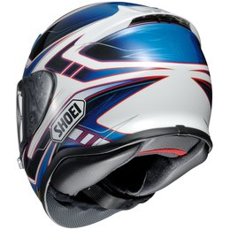 Shoei Mens RF-1200 RF1200 Valkyrie Full Face Helmet Blue