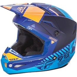 Fly Racing Kinetic Elite Onset MX Offroad Helmet Blue