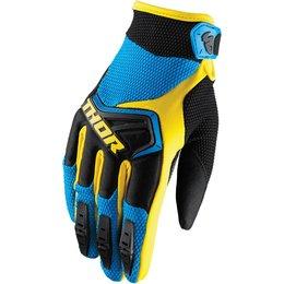 Thor Mens Spectrum MX Gloves Blue