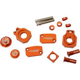 Moose Racing Aluminum Bling Pack KTM 250 300 EXC Six Days 2014 Orange 1231-0921 Orange