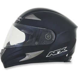 Black Afx Mens Fx-90 Fx90 Metal Flake Full Face Helmet