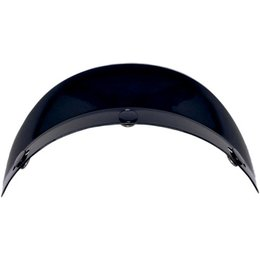 Black Afx Replacement 3 Snap Short Visor For Fx-70 Half Helmet Ls