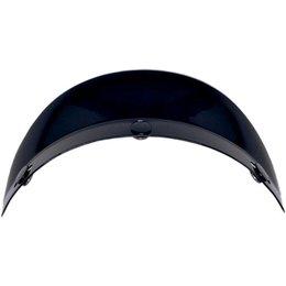 Black Afx Replacement 3 Snap Short Visor For Fx-70 Half Helmet Ls