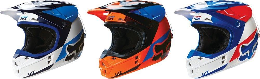 81d2cb3aa  169.95 Fox Racing V1 Mako DOT Helmet  234747