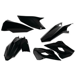 Acerbis Plastic Kit For Husqvarna TE125/250/300 FE250/350/501 2014 Black