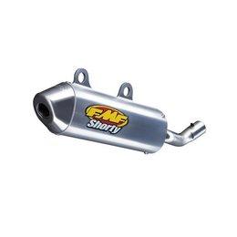 Aluminum Muffler/stainless Steel Stinger/stainless Steel Endcap Fmf Powercore 2 Shorty Muffler Muffler Ktm 125sx 1998-2003 025046