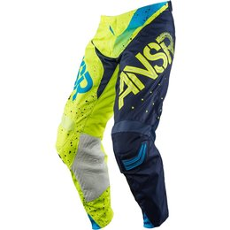 Answer Mens Limited Edition Elite Halo MX Motocross Riding Pants February Blue