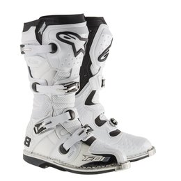 White Alpinestars Mens Tech 8 Rs Vented Boots 2015 Us 5