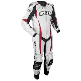 White, Red, Black Speed & Strength Twist Of Fate 3.0 One Piece Leather Suit 2013 Us 38 White Red