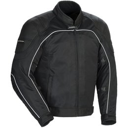 Tour Master Mens Intake Air 4.0 Armored Mesh Textile Riding Jacket Black