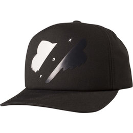 Fox Racing Mens Implicated Adjustable Cotton Snapback Black