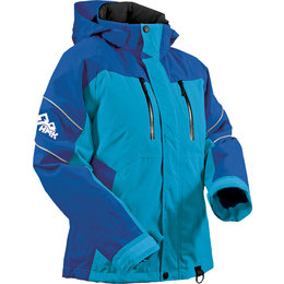 HMK Womens Action 2 Waterproof Snowmobile Jacket Blue