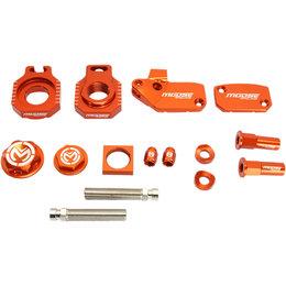 Moose Racing Aluminum Bling Pack KTM 250 SXF 250 SXS-F Orange 1231-0922 Orange