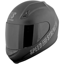Black Speed & Strength Ss700 Go For Broke Full Face Helmet