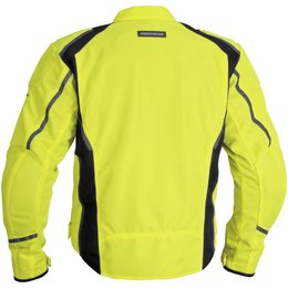 Day Glo Yellow Firstgear Mesh Tex Textile Jacket Tall