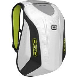 Ogio No Drag Mach 3 Motorcycle Bag Molded Pak Backpack White